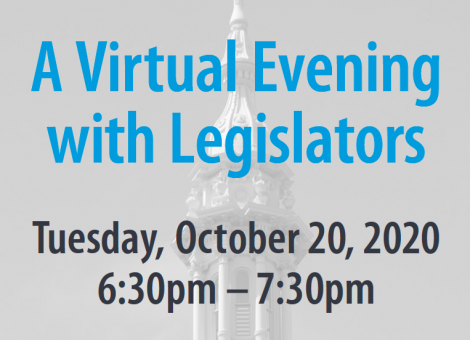 A Virtual Evening with Legislators
